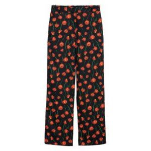 H&M | Floral Wide Leg Trousers